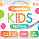 Kids Festival Flyer-Graphicriver中文最全的素材分享平台