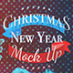 Christmas & New Year Mock Up - GraphicRiver Item for Sale
