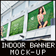 Billboard Indoor Advertising Mock-Up - GraphicRiver Item for Sale
