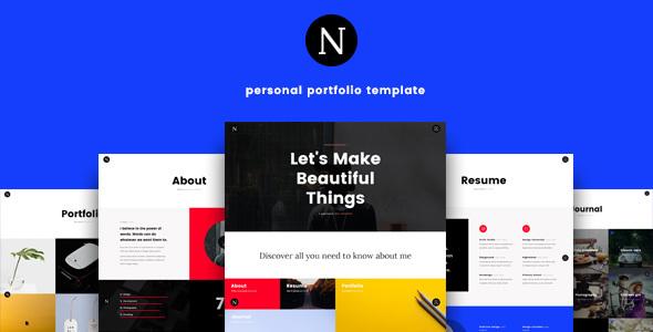Neme – Ultimate Personal Portfolio Template