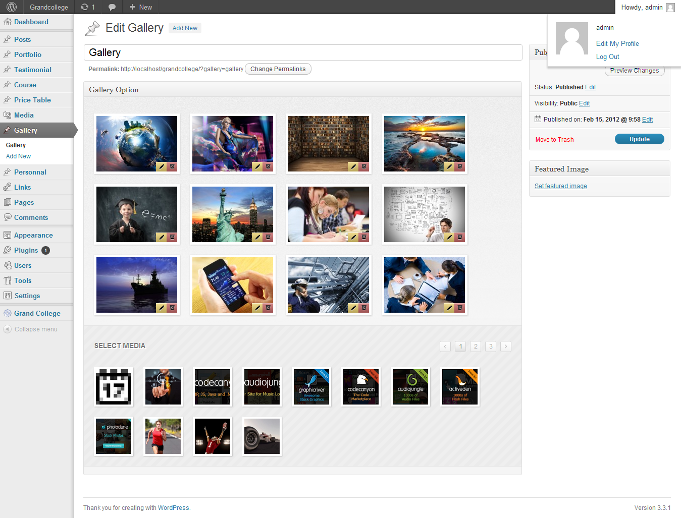 20 College WordPress Themes for