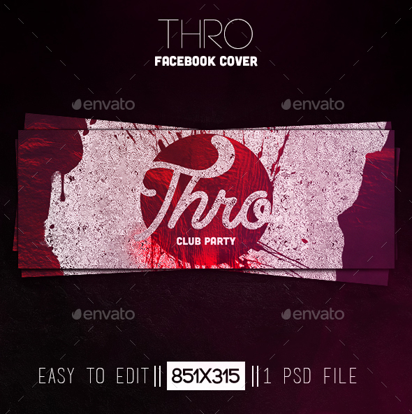 Thro Facebook Cover - Facebook Timeline Covers Social Media
