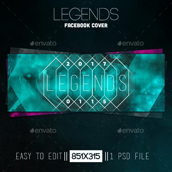 Legends Facebook Cover - Facebook Timeline Covers Social Media