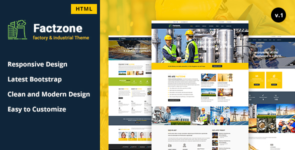 FactZone – Factory & Industrial Business Template