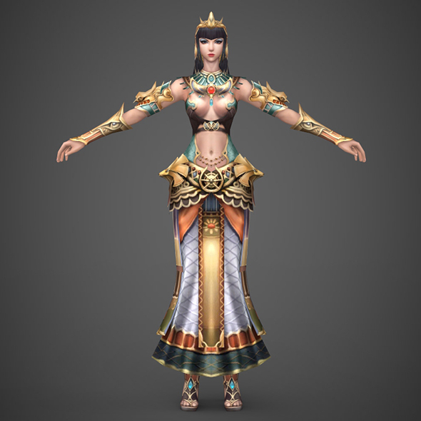 Egyptian Queen - 3DOcean Item for Sale