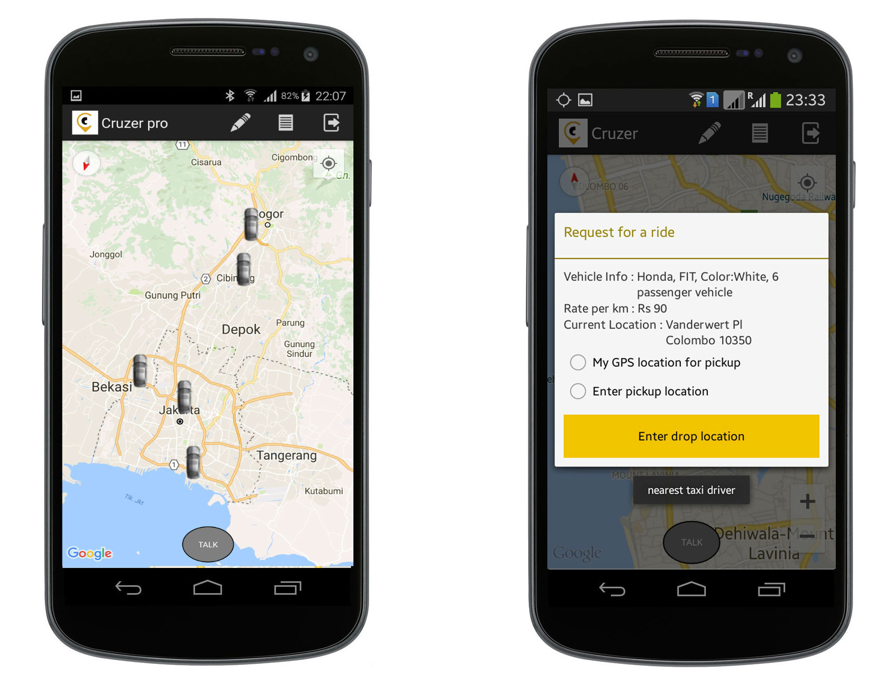 Android App Taxi Booking with Web Admin panel complete solution