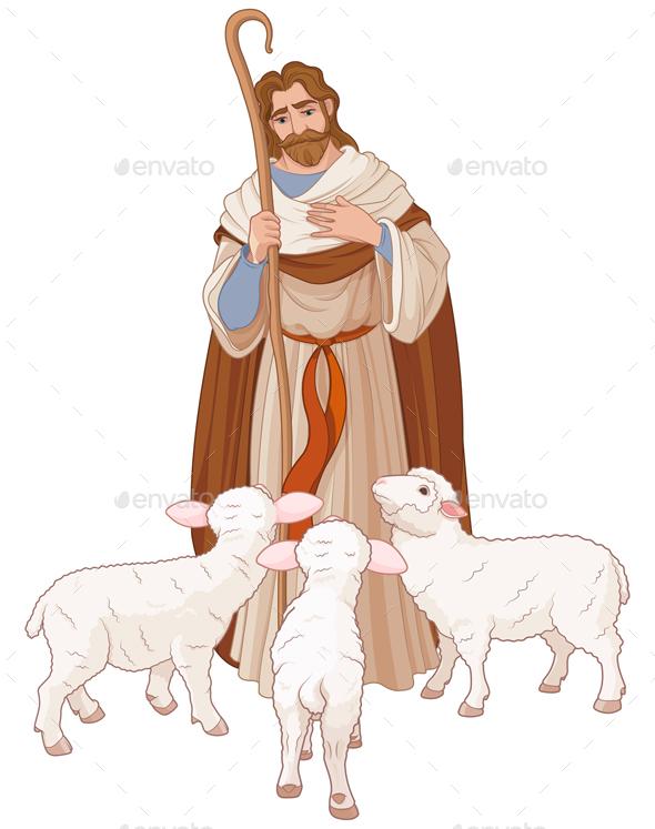 The Good Shepherd - Religion Conceptual