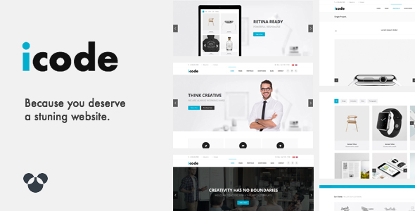 icode – Classic HTML5 Template