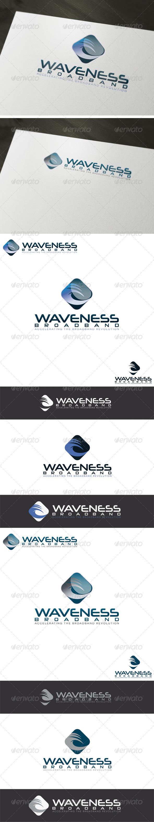 Broadband Logo Template - Vector Abstract