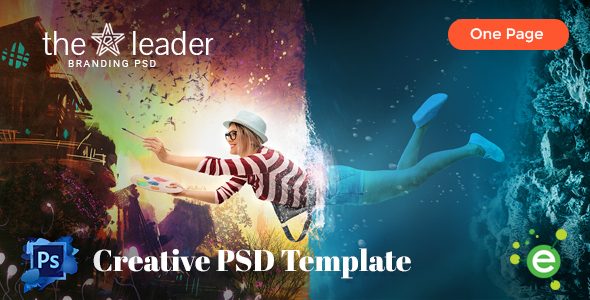 The Leader – Creative Business PSD Template
