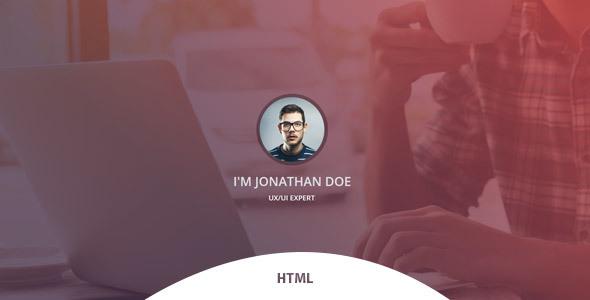 Verka – CV/Resume HTML Template