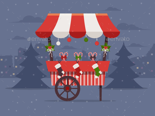 Christmas Market - Christmas Seasons/Holidays