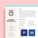 Babysitter Resume Template - GraphicRiver Item for Sale