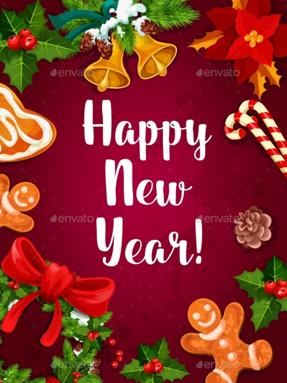 New Year Winter Holidays Poster - New Year Seasons/Holidays