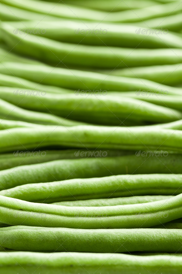 bean pods background - Stock Photo - Images