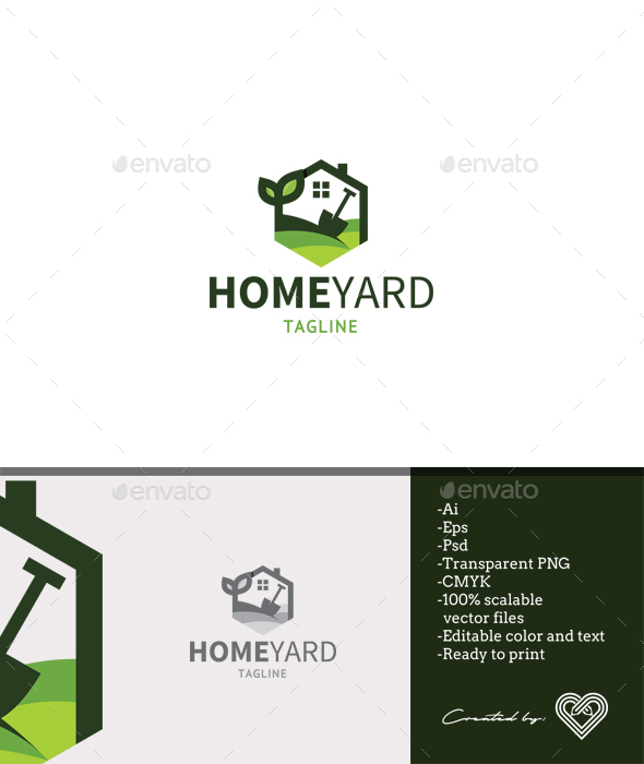 Home Yard - Nature Logo Templates