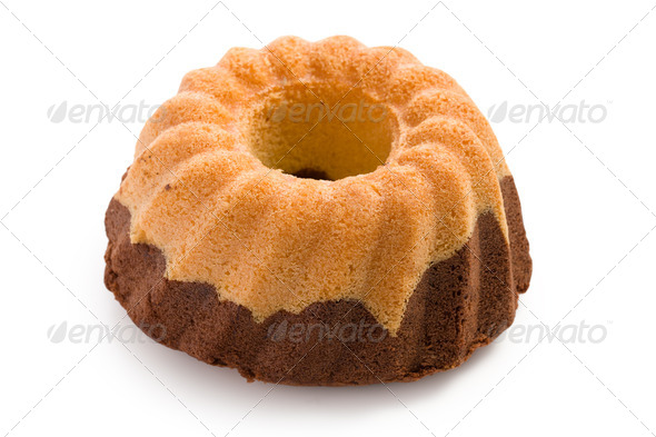 marble cake - Stock Photo - Images