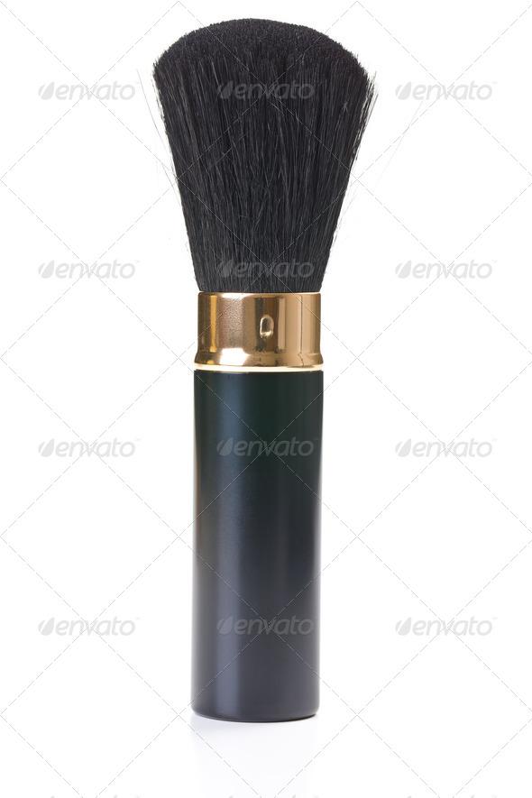 makeup brush - Stock Photo - Images