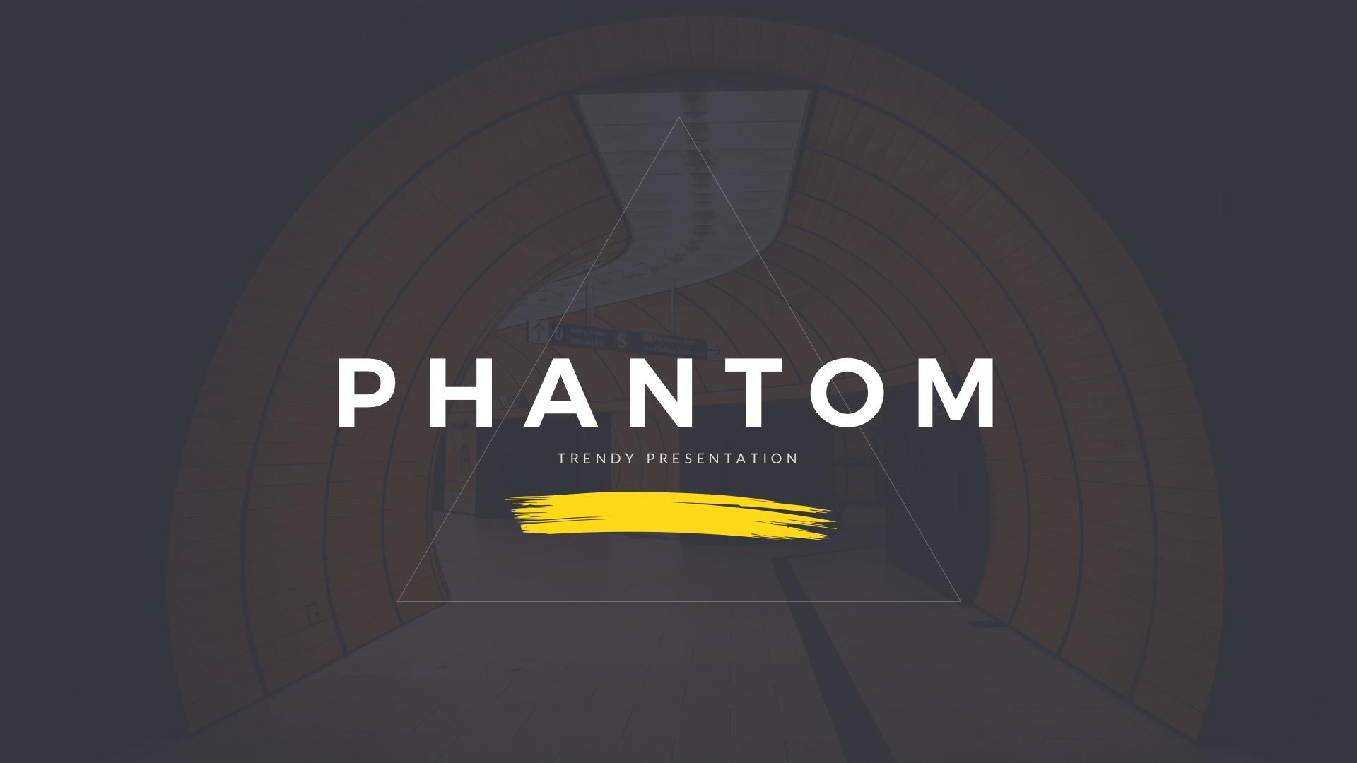 Phantom Modern Google Slides Template by slidefusion   GraphicRiver