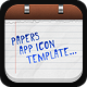 Papers App Icon Template - GraphicRiver Item for Sale