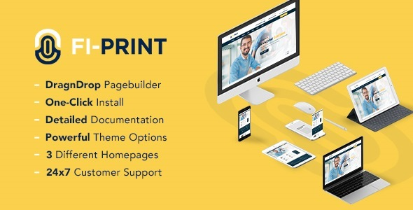 Fi-Print – Multipurpose Corporate WordPress Theme