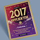 New Year Celebration Flyer Templates - GraphicRiver Item for Sale