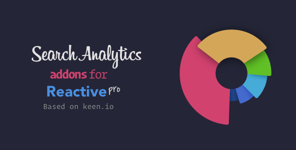 Search Analytics Addons for Reactive Pro - CodeCanyon Item for Sale