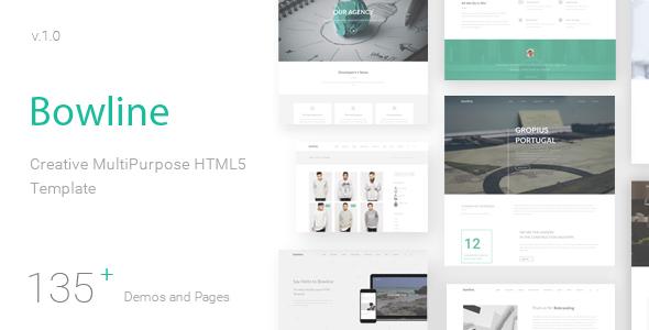 Bowline – Creative HTML5 Template
