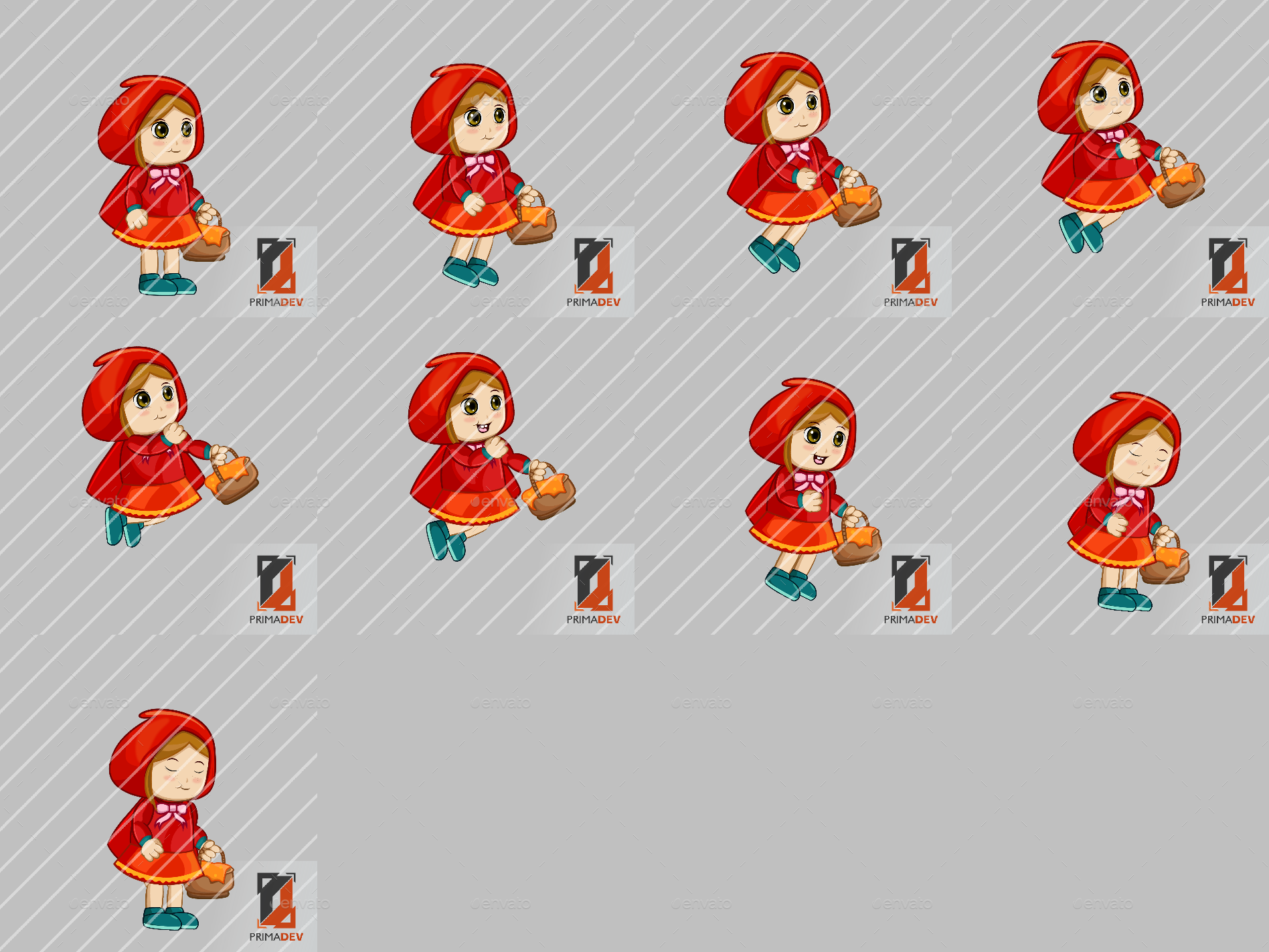 Little red riding hood sprite character by primadev graphicriver little red riding hood preview setpreview setentity000jumpg buycottarizona