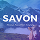 Savon PowerPoint Presentation Template - GraphicRiver Item for Sale