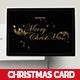 Gold Foil Christmas Dinner Invitation & Greeting - GraphicRiver Item for Sale