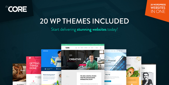 The Core - Multi-Purpose WordPress Theme - Business Corporate