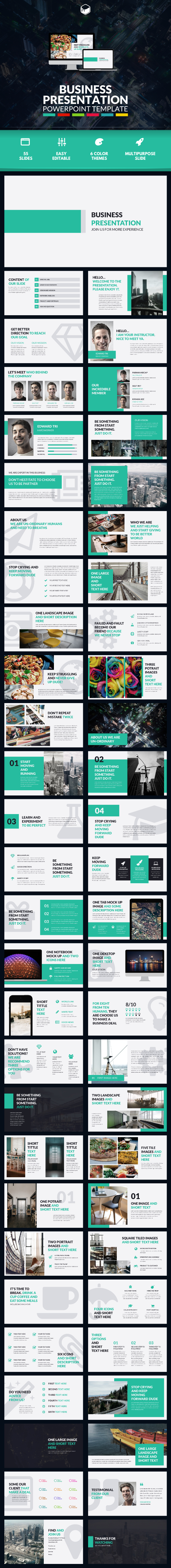 Business presentation 3 powerpoint template by descarteshouston business presentation 3 powerpoint template business powerpoint templates toneelgroepblik Image collections