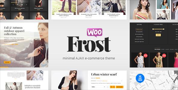 Frost – Minimal AJAX WooCommerce Theme