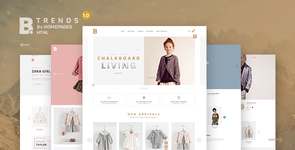 B – Trends Ecommerce Multipurpose HTML Template