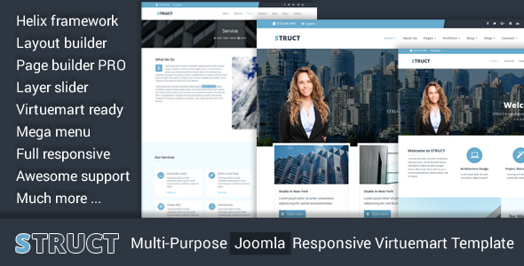 Struct – Multi-Purpose Joomla Responsive Virtuemart Template