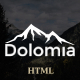 Dolomia - Hiking, Outdoor, Mountain Guide HTML Template Nulled