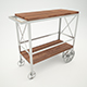 Butler Industrial Trolley Server - 3DOcean Item for Sale