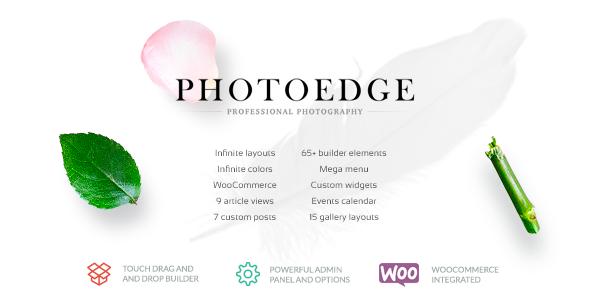 Photoedge - Professional Creative Photography Theme - Photography Creative