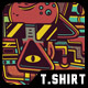 Hippie T-Shirt Design - GraphicRiver Item for Sale