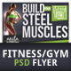 Fitness Flyer / Gym Flyer - GraphicRiver Item for Sale