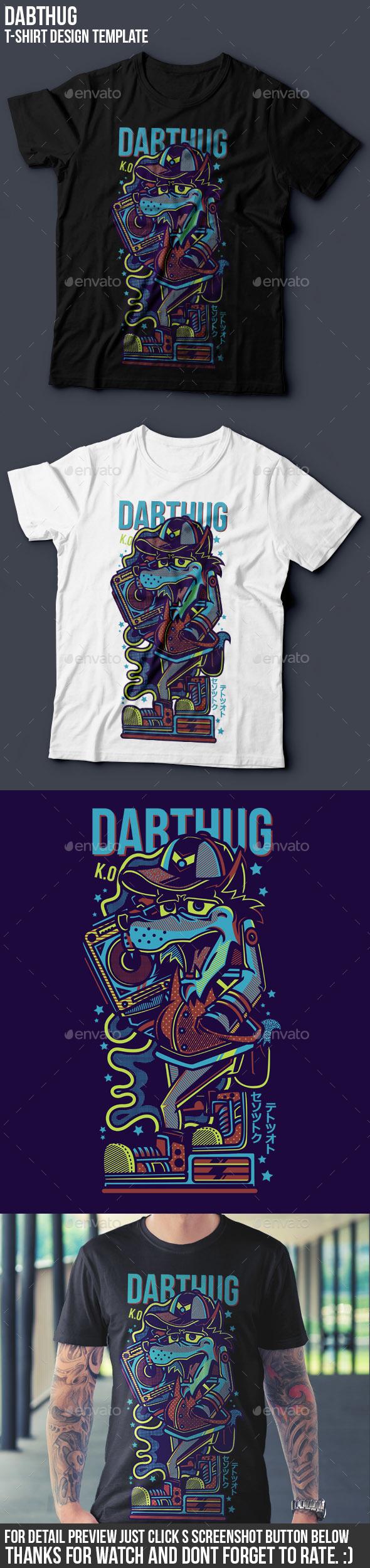 Dabthug T-Shirt Design - Events T-Shirts