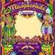 Mardi Gras Carnival Poster Theme Carnival Mask Show Parade - GraphicRiver Item for Sale