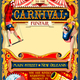 Circus Carnival Juggler Show Illustration Vintage Vector - GraphicRiver Item for Sale