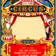 Circus Carnival Animal Trainer Invite Vintage Vector - GraphicRiver Item for Sale