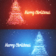 Snowy Backgrounds with a Rotating Christmas Tree of Shiny Particles Pack - VideoHive Item for Sale