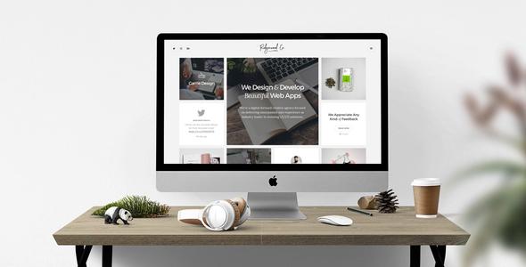 Ridgewood Co. – Responsive HTML5 Portfolio for Creatives - Portfolio Creative