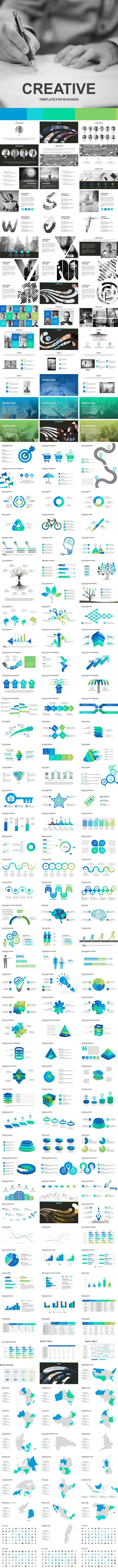 Creative Keynote Template - Business Keynote Templates