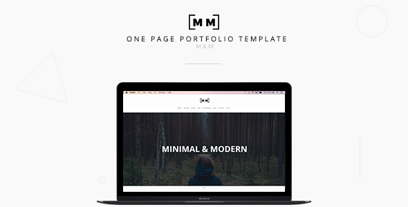 M&M -- Minimal & Creative WordPress Theme