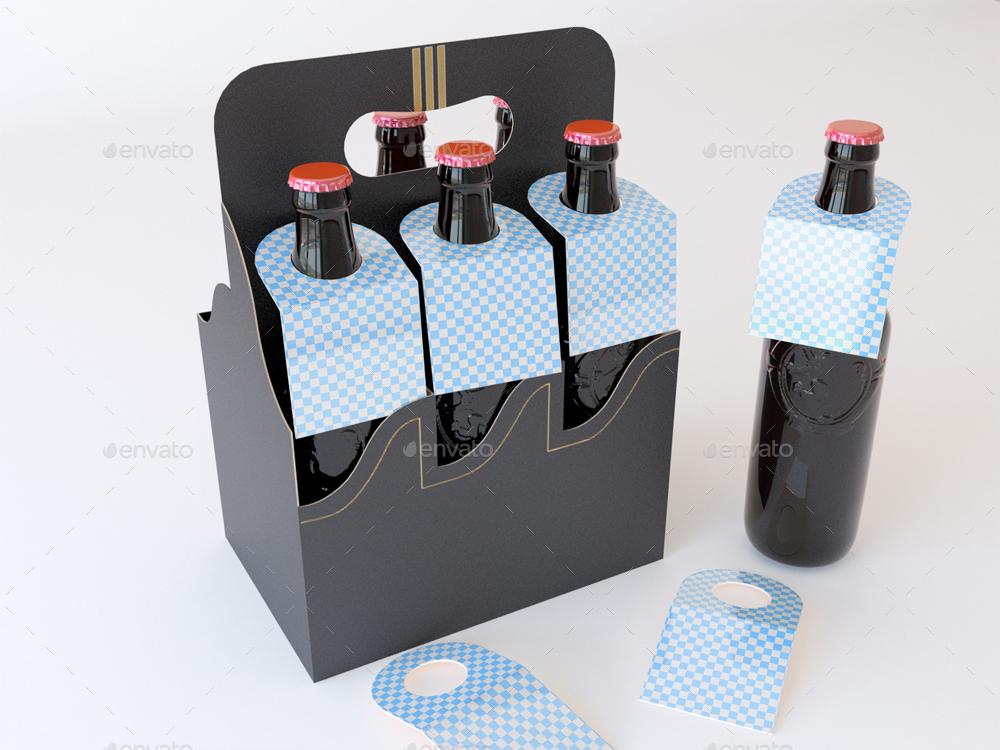 Bottleneck Hangers Tabs Mock Up By Sanchi477 Graphicriver